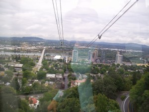 South Waterfront from the aerial tram